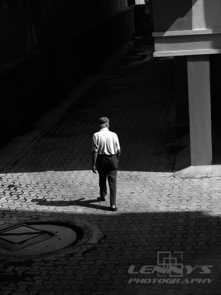 Walking Alone with your Shadow